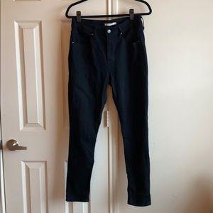 Levi's Stretch Black Skinny Jeans